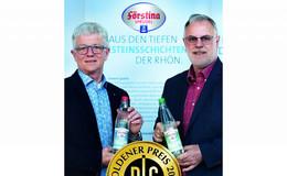 Förstina Sprudel in Glas- und PET-Flasche ausgezeichnet