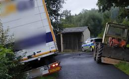 War das Navi schuld? Fahrzeug droht abzustürzen