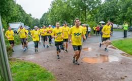 Lions Club Fulda-Spendenlauf: Das Wetter habe ich mit Absicht so gemacht