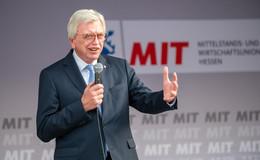 Ministerpräsident Bouffier: Es wird knapp, aber wir werden gewinnen