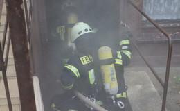 Traditionelle Übung der Ludwigsauer Feuerwehr am Tag der Deutschen Einheit