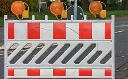 Schadstellenbeseitigung: Vollsperrung auf der B49