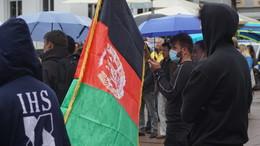 Kundgebung mehrerer Initiativen für Solidarität mit Afghanistan