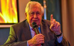 Rekordhalter Prof. Bernhard Vogel (88) mit Point-Alpha-Preis ausgezeichnet