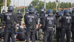 Auf Ernstfall vorbereiten - Demonstrationsszenario der Bundespolizei in Hünfeld