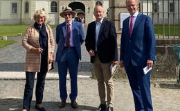 Staatsministerin Monika Grütters besucht Schloss Fasanerie