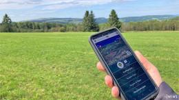 Das Biosphärenreservat Rhön per App erkunden