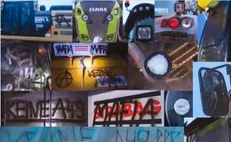 Staatsschutz ermittelt: Lastwagen, Traktoren und Baumaschinen beschädigt