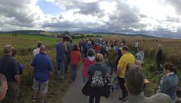 Keine Windräder auf dem Lochberg - Protest im Schlitzerland