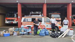 Mit Mückenspray, Feuerwehrstiefel und Bagger: Hilfsaktionen aus der Region