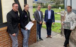 Hermann-Josef Klüber informiert sich zwischen Werra und Fulda