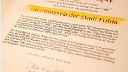Ausschreibung für den Literaturpreis Fulda 2022 läuft