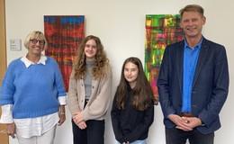 Zwei Winfriedschülerinnen unter den Top 20 im Finale von Jugend präsentiert