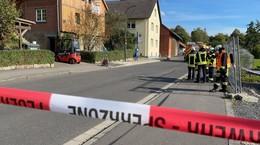 Gasleitung in Pilgerzell angebohrt - Florastraße kurzzeitig gesperrt