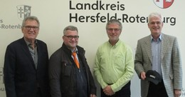 Erstes Treffen der GDL Ortsgruppe Bebra mit Landrat Torsten Warnecke