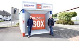 Neue Leinweber-Baustoffbox am Landeck-Center eingeweiht
