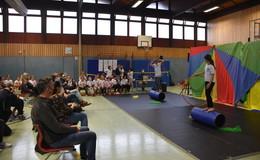 Inklusives Zirkusprojekt an der Pestalozzischule schafft Begegnungen