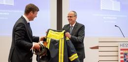 Beuth verabschiedet Staatssekretär Dr. Stefan Heck in den Bundestag