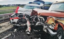 Tödlicher Crash auf B 62: Notarztwagen in Unfall verwickelt