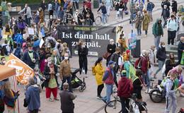 Globaler Klimastreik: Rund 400 Aktivisten ziehen durch Fulda