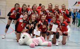 Hünfelder Volleyballerinnen gewinnen Bundespokal Süd mit der HVV-Auswahl