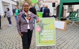 Grüne Awet Tesfaiesus zieht über die Landesliste in den Bundestag ein
