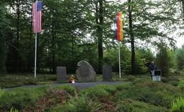 Fliegergedenkstätte im Seulingswald: 77 Jahre nach der Luftschlacht