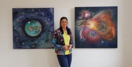 Meine Welt – Meine Farben - Ausstellung in der Galerie Junger Kunstkreis