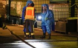 Feuerwehreinsatz bei Firma Hochwald Foods: Ammoniak ausgetreten
