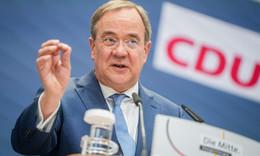 CDU-Kanzlerkandidat Armin Laschet kommt am Dienstag nach Fulda