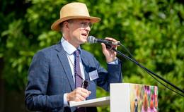 Schaulaufen der Lokalprominenz: Empfang beim Fürstlichen Gartenfest