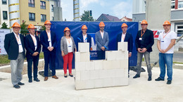 Grundsteinlegung in Gerstungen: Modernes Geschäftshaus mit Bankfiliale