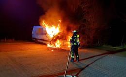Feuerteufel geschnappt: Polizei ermittelt Tatverdächtigen (26) durch DNA-Spur