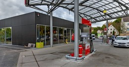 KNITTEL AVIA-Tankstelle am Andreasberg umgebaut, in Eichenzell Tankautomat