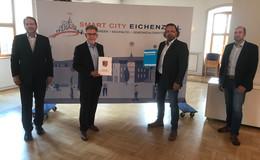 Pilotprojekt von Gemeinde und RhönEnergie: Beleuchtungsanlagen mit Mehrwert