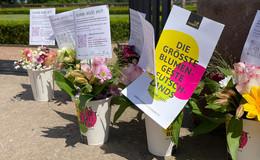 200 Blumensträuße in der Region verteilt: Moment der Freude bereiten