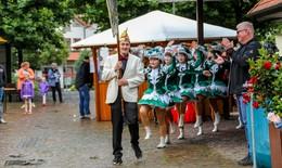 CVP feiert 70. Geburtstag-Bürgerfest ganz in Narrenhand