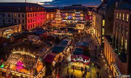 Fuldaer Weihnachtsmarkt findet statt: Hygienekonzept, keine Einlasskontrollen