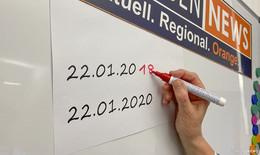Die Jahreszahl 2020 immer ausschreiben - sonst haben´s Fälscher leicht