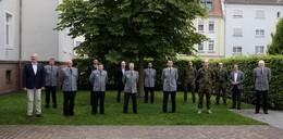 Landkreis bedankt sich bei Bundeswehr für Einsatz bei Corona-Bekämpfung