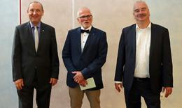 In den Ruhestand: Diözesan-Caritas verabschiedet Chefcontroller Hosenfeld