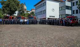 Sieben neue Fahrzeuge bei der Feuerwehr Petersberg