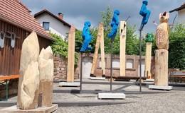 20 Jahre Bildhauer-Tage: Workshop mit Skulpturen zum Thema WANDERN