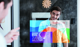 Mues-Tec Smart Mirror als interaktives Exponat