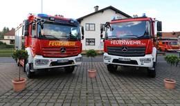 Zwei neue Löschfahrzeuge übergeben: Brandschutz weiter verbessert