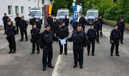 Bundespolizeiabteilung Hünfeld stellt zweite Einsatzhundertschaft in Dienst