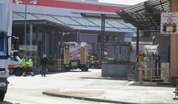 Alarmierung am Vormittag: Feuerwehreinsatz auf dem Werksgelände der DB