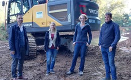 Maßnahmen zur Gewässerentwicklung an Lüder und Altefeld