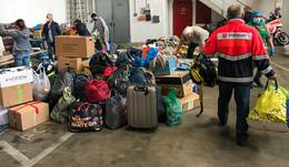 Welle der Hilfsbereitschaft, aber die Lager sind voll: Sachspenden zurückhalten