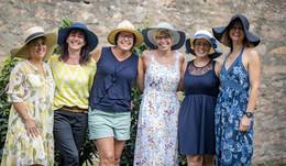 Hüte, Hüte, Hüte am Gartenfest-Stand von OSTHESSEN|NEWS - TAG 3